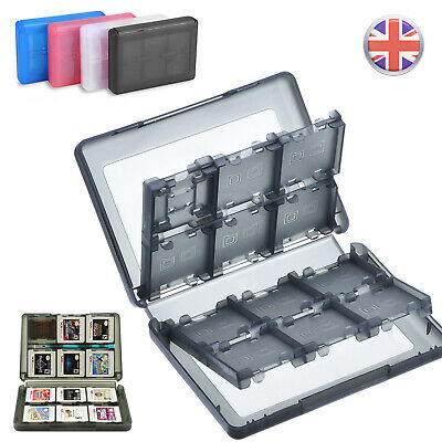 28 in 1 Game SD Card Storage For Nintendo Case Holder 3DS DS DSi XL LL