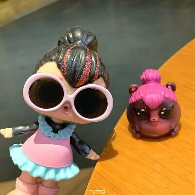with a Pet spicy LOL SURPRISE Dolls Glam Glitter SPICE L.O.L. series 2 toys
