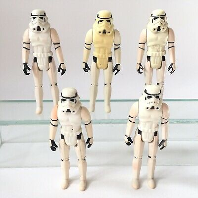 Vintage Kenner Star Wars Action Figure Job Lot - 5 x Imperial Stormtroopers
