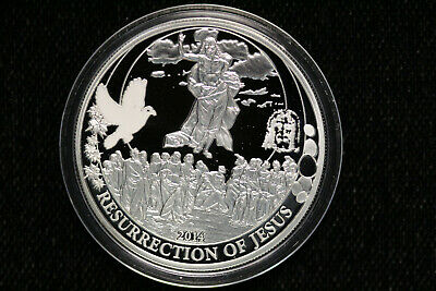Biblical Series 2018 2 oz Silver Coin Temptation of Jesus - SKU#160188