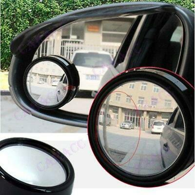 2X Car Blind Spot Mirrors Wing/Door Angled Convex Glass Van Auto Vehicle Lorry