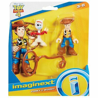 Imaginext Toy Story - Woody & Forky