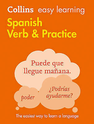 Easy Learning Spanish Verbs and Practice, Collins Dictionaries