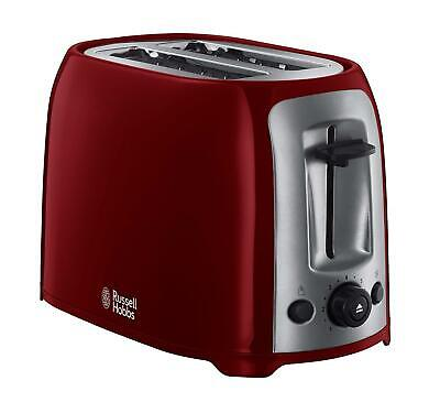 Russell Hobbs 23861 Darwin 2 Slice Toaster In Red - Brand New