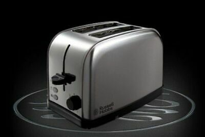Russell Hobbs 2 Slice Bread Toaster Home Kitchen - Stainless Steel Silver