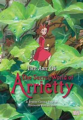 The Art of The Secret World of Arrietty (Hardcover), Yonebayashi, Hiromasa
