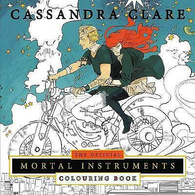 The Official Mortal Instruments Colouring Book, Clare, Cassandra
