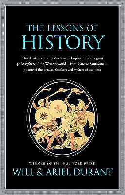 Lessons of History, Durant, Will