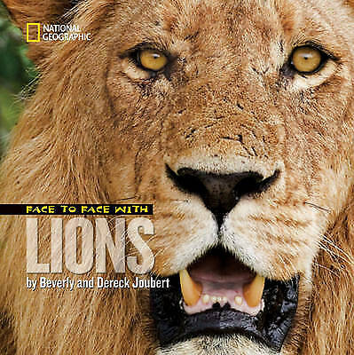Face to Face with Lions, Joubert, Dereck
