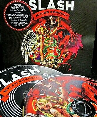 Apocalyptic Love [Deluxe Edition] by Slash NEW CD & DVD MILES KENNEDY,BRET FRITZ