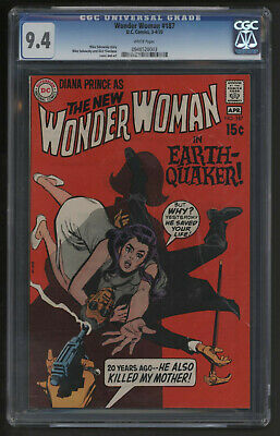 Wonder Woman #187. Cgc Near Mint With White Pages. Third Highest