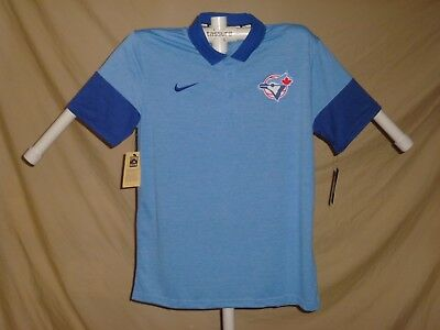 f7142236ea5 TORONTO BLUE JAYS Mens NIKE Cooperstown Collection POLO GOLF SHIRT 2XL NWT   65