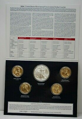 2016 United States Mint Annual Uncirculated 6 Dollar Coin Set 89089