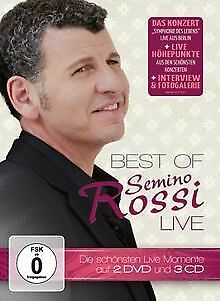 Best Of - Live (Limited Deluxe Edition) von Rossi,Semino | CD | Zustand gut