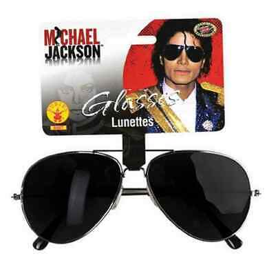 Michael Jackson Sunglasses Glasses Pop Star Aviator Halloween Costume Accessory