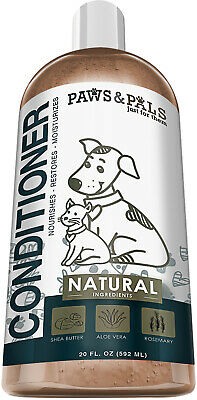 Dog Conditioner for Dry Itchy Skin Leave In Detangler and Oatmeal Moisturizer
