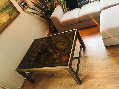 Rare French Maison Jansen Mid Century Antique Coffee Table