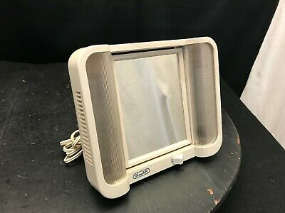 Vintage TreasAir Lighted Mirror Vanity Flip Mirror #45