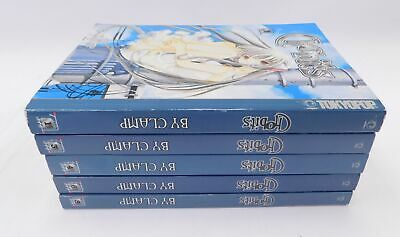 5x CHOBITS by Clamp Mixed Collection Volumes 1, 3, 4, 6, 8 Manga ENGLISH - W20