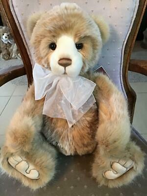 """Michelle Charlie Bears 2019 Plush * 19"""" New With Tags"""
