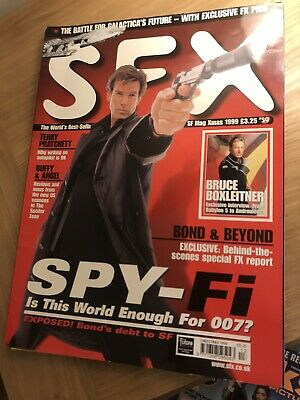 S F X Mag Xmas 1999 James Bond Magazine