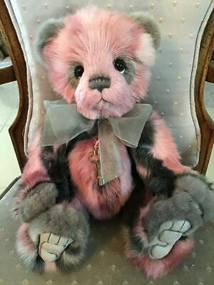 "Cara Charlie Bears 2019 Plush * 15"" New With Tags"