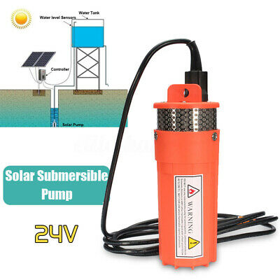 DC24V Submersible Deep Solar Battery Well Fountain Water Pump Alternative  AU
