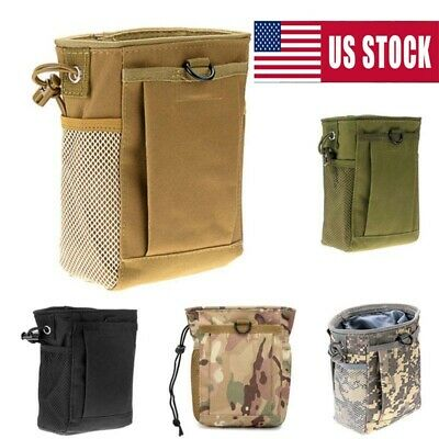 Tactical Military Airsoft Small Molle DUMP Utility Ammo Pouch Bag Backpack