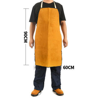 New Yellow Safurance Welding Apron  Safety Clothing Self Protect bvf