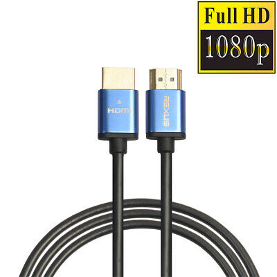 High Speed Premium HDMI Cable 1080P 3D for Xbox HDTV PS3 PS4 1-15M Gold Plated