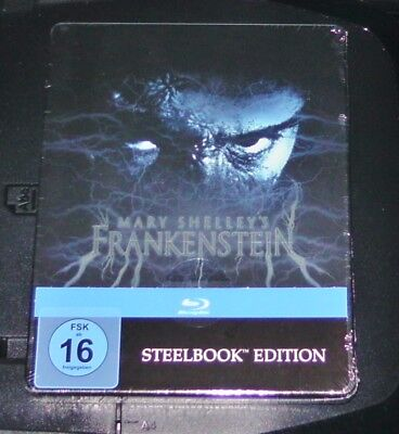 Mary Shelley´S Frankenstein Limited Steelbook Edition Blu Ray New & Sealed