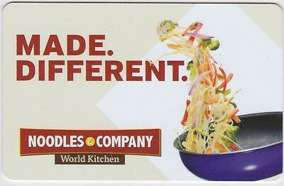 NOODLES & COMPANY Gift Card - $25 or $100 (Email Delivery