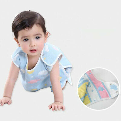 Baby Sleeping Pajamas Summer Cotton Wearable Blanket for Newborn Toddler