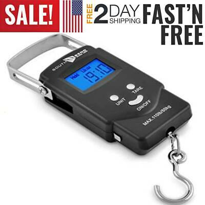 Portable Digital Fishing Scale Fish Hook Hanging Weight Scale Electronic Luggage
