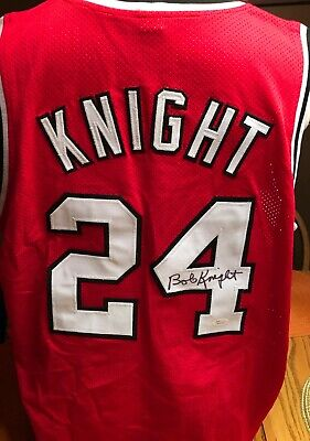 490d2af3d67 Bob Knight autographed signed Ohio State Buckeyes jersey JSA