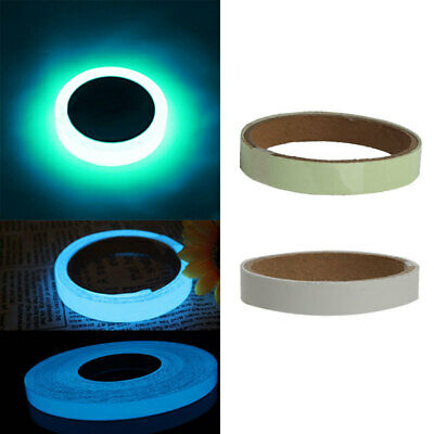 Luminous Tape Waterproof Self-adhesive In The Dark Safe Stage Home Decor 1M