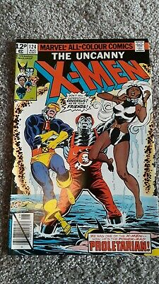 Marvel The Uncanny X-Men Comic Number 124 - August 1979 -  Original