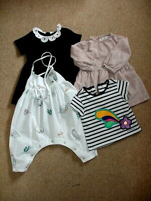 Baby Girl Clothing Bundle - Stella McCartney/Burberry - 12 Months - VGC