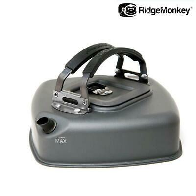 Ridgemonkey Small Square Kettle With Carry Bag - Carp Coarse Fishing