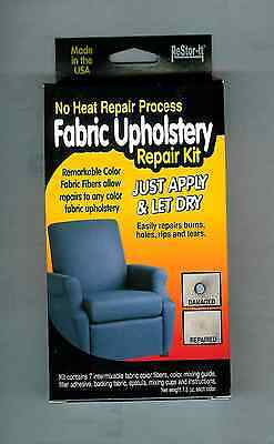 ReStor-It Fabric Upholstery Repair Kit  - No Heat - Just Apply and Let Dry - New