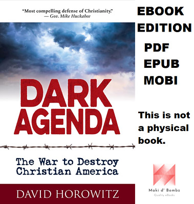 DARK AGENDA: The War to Destroy Christian America (Check Photo)