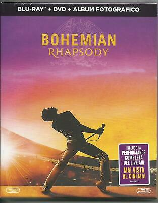 Bohemian Rhapsody (Digibook) (2019) Blu Ray+ DVD+ Book