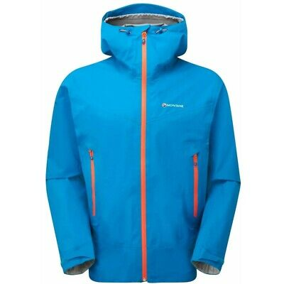 Montane Mens Surge Jacket Electric Blue (Small Gore-Tex)