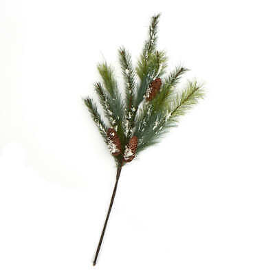 Snow Dusted Artificial Pine Spray