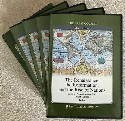 Renaissance, the Reformation, and the Rise of Nations, The (The Great Courses)