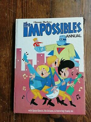Hanna Barbera The Impossibles Annual Jetsons Franky Junior 1968 Un-Clipped