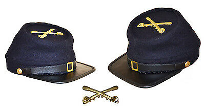 American Civil War Gettysburg Union Lt Colonels Forage Cap Large 58//59cms
