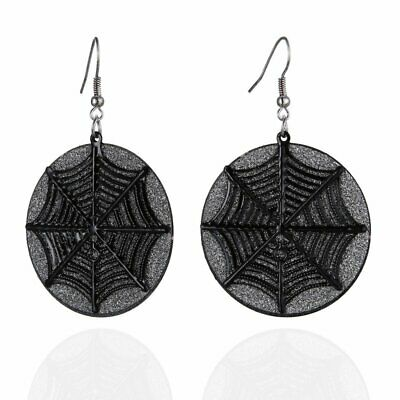 Fashion 2019 Spider Web Circle Drop Dangle Earrings Hook Women Jewelry Party New