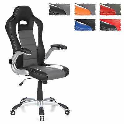 Gaming Chair Office Chair Racing Chair foldable armrests RACER SPORT hjh OFFICE