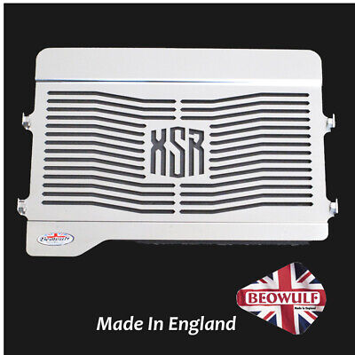 Yamaha XSR 700 (15-19) Polished Stainless Steel Beowulf Radiator Guard Grill